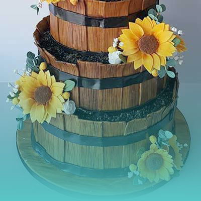 Baker Boy Cakes - Wedding-cakes-cork-image-gallery